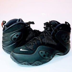 NEW Nike Zoom 2018 Rookie Retro Triple Black Penny
